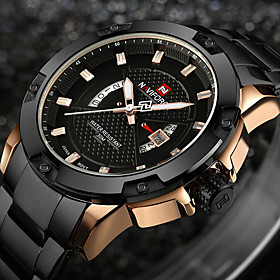 Watches Men Luxury Brand NAVIFORCE Military Watches Men's Quartz Date Clock ..