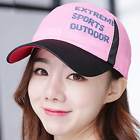 Image of Ladies Quick - drying Offset Baseball Cap in Spring and summer Outdoor Snapback Hats Sunscreen Sun hats for Women Men Unisex