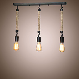 3 Light Cluster Pendant Light Ambient Light Designers, 110 120V / 220 240V Bulb Not Included / 5 10㎡ / E26 / E27