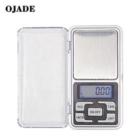 MonkeyJack 0.01g-200g Gram Mini Digital LCD Balance Weight Pocket Jewelry Diamond Scale