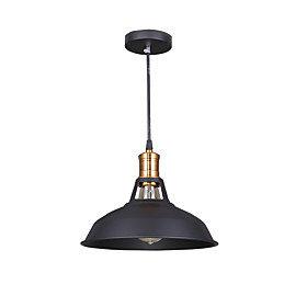 Bowl Pendant Light Ambient Light Painted Finishes Metal LED 110-120V / 220-240V Yellow Bulb Not Included / E26 / E27