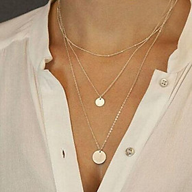 Women's Pendant Necklace / Long Necklace - Fashion Silver, Golden Necklace Jewelry For Party, Daily, Casual