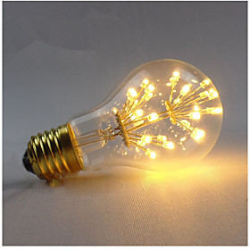 1pcs Dimmable E27 A19 MTX LED Filament Bulbs intage LED Light Bulb Fireworks Starry Decorative For Pendant Lamp AC220-240V