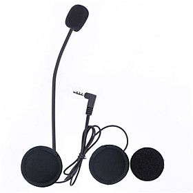 Vnetphone 3.5mm Jack Plug V6 intercom V4 Interphone Headset Accessories Earphone Stereo Suit for V6 Intercom V4 Helmet Interphone Accessories Parts 5784753