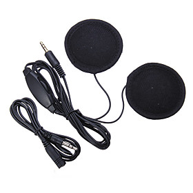 3.5mm Jack Helmet Headphone Motorcycle Helmet Speaker Headphones Plug Volume Control MP3 Phone Music for Helmet Accessories Heasets