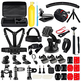 Accessory Kit For Gopro 50 in 1 / Multi-function / Foldable For Action Camera Gopro 6 / Gopro 5 / Xiaomi Camera Diving / Surfing / Ski /