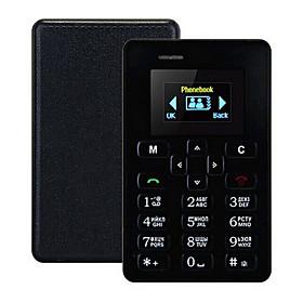 New Ultra Thin AIEK M5 Card Phone 4.5mm Mini Pocket Mobile AEKU Credit Card Slim Phone 5796074