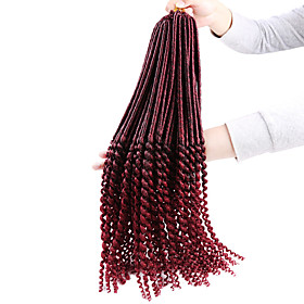 Braiding Hair Curly / Classic / Crochet Curly Braids / Hair Accessory / Human Hair Extensions Synthetic Hair 24 roots / pack Hair Braids Daily 5849008