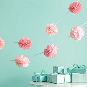 6 inch Tissue Pom Pom Flower DIY Party Decoration(Set of 10) Beter Gifts Wedding Ideas 5791531