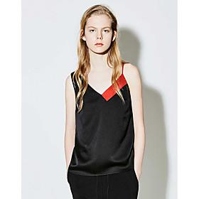 Tee-shirt Femme,Imprimé Quotidien simple Eté Manches Courtes Col Arrondi Coton Fin