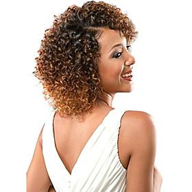 Braiding Hair Crochet / Jerry Curl Ombre Hair Weaves / Hair Bulk / Curly Braids Synthetic Hair / 100% kanekalon hair 3pcs / pack Hair Braids Blonde / Auburn / 5971467
