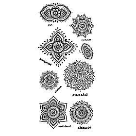 Pattern / Lower Back / Waterproof Hand / Arm / Wrist Temporary Tattoos 1 pcs Totem Series Body Arts 5980937
