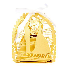 50pcs/lots bride and groom wedding favor box candy box 5539391