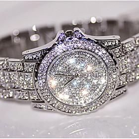 Fashion Watch Wrist watch Luxury Women Watches Crystal Rhinestone Watches Di..