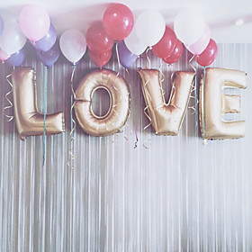 L-O-V-E 32inch Balloons Gold Beter Gifts Party Decoration 5938400