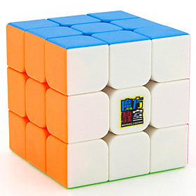 Rubik's Cube MoYu 333 Smooth Speed Cube Magic Cube Educational Toy Stress Reliever Puzzle Cube Smooth Sticker Gift Unisex 5981553