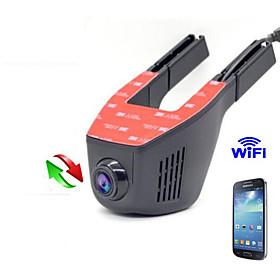 Hidden Car DVR  Dash Cam  Car Camera WIFI 1080P Car DVR Full HD Night Vision Motor Vehicle Camera Support Andriod and IOS  APP 5906531