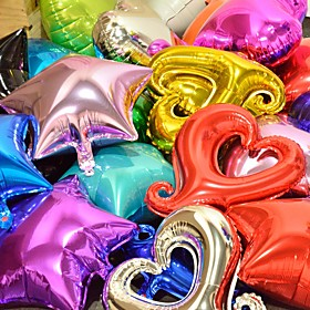 18inch 10pcs Heart Shape Foil Balloons Heart Balloon Wedding Party Decoration Marriage Balloons 5963412