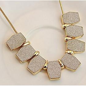 Choker Necklaces Euramerican Geometry Short Chain Clavicle Africa Women's Bu..