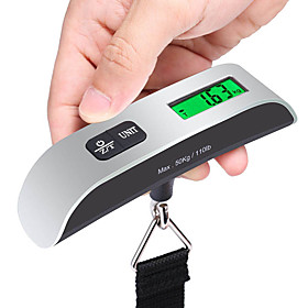 Stainless Steel Rubber Travel Luggage Scale Portable Luggage Accessory Multi-function 5392297