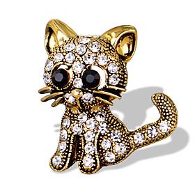 Women's Brooches - Animal Unique Design, Fashion, Cute Brooch Gold / Silver ..