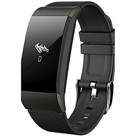 Homme / Femme Montre De Sport / Montre Militaire / Montre Smart Watch Chinois Moniteur De Frequence Cardiaque / Calendrier / Regle De Calcul Silikon Bande Char