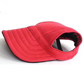 Cat Dog Bandanas Hats Dog Clothes Solid Colored Black Red Blue Nylon Costume For Pets Men