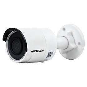 HIKVISION DS-2CD2085FWD-I 8MP IP Camera(12 VDC  PoE IP67 30m IR Built-in SD Slot H.265 3D DNR Motion Detection)