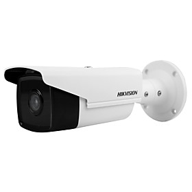 HIKVISION DS-2CD2T35FWD-I8 3MP Ultra-Low Light IP Camera (80m IR 12VDC PoE H.265 IP67 3D DNR Built-in SD Slot 128G Motion Detection)