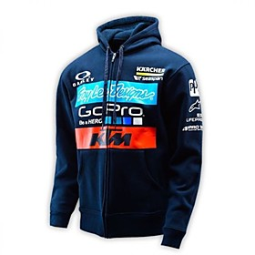 KTM Motorcycle locomotive casual knight clothing sweater coat off - road riding sweater 6048315