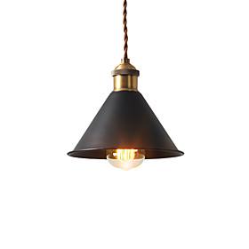 Vintage Mini Pendant Lights Industrial 1 Light Metal Shade Dining Room Hallway Kitchen Cafe Bars Lighting