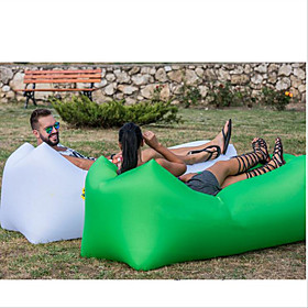 Inflatable Sofa Sleep lounger / Air Sofa / Air Bed Outdoor Camping Waterproof, Portable, Moistureproof Design-Ideal Couch Oxford Camping / Hiking, Beach, Trave