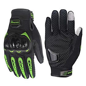Motorcycle Armored Glove Cycling Bicycle Racing Gloves Motorcycle Full Finger Non-Slip gloves 5981610