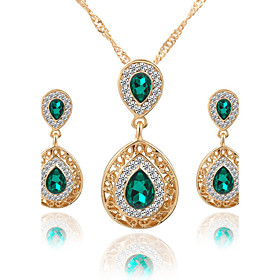 Women's Crystal Jewelry Set - Crystal, Rhinestone