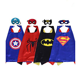 Halloween Child Capes/Superman Batman Spiderman/Costume Party Costume/Cloak And Mask 6037321