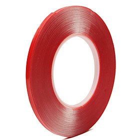 10MM10M Double-sided Clear Transparent Acrylic Tape for Car Decoration Family Decoration