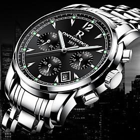 Mens luxury gold wristwatches male brand watches quartz man clocks waterproo..