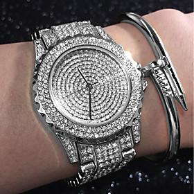 Women's Ladies Luxury Watches Bracelet Watch Diamond Watch Quartz Stainless ..