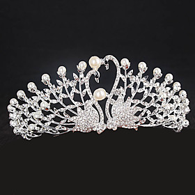 Rhinestone Alloy Tiaras Headbands Headpiece Classical Feminine Style 6183281