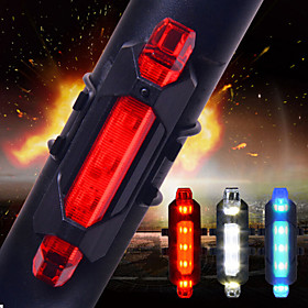 Rear Bike Light / Safety Light / Tail Light LED Bike Light - Cycling Smart, Impact Resistant, Anti Slip Other / Cell Batteries 15 lm USB / Battery Everyday Use