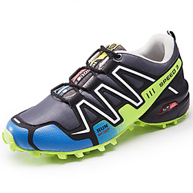 Men's PU(Polyurethane) Spring / Fall Comfort Athletic Shoes Walking Shoes Black / Gray / Royal Blue