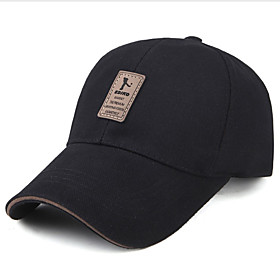 Men's Street chic Baseball Cap - Solid Colored 6073627