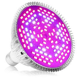 1pc E27 120LED 78Red24Blue6White6IR6UV Full Spectrum Led Grow Light Bulb for Garden Flowering Hydroponics System AC85 265V