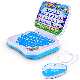 Toy Computer Laptop Educational Toy Smart intelligent English Chinese Boys' / Girls' Toy Gift
