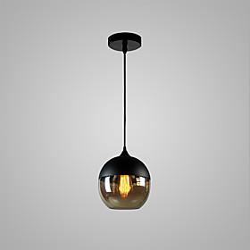 Globe Pendant Light Ambient Light Painted Finishes Glass Glass Bulb Included, Adjustable, Designers 110-120V / 220-240V Bulb Not Included / E26 / E27