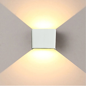 JIAWEN 6W 480lm Led Wall Light Simple / Modern /Up down led Stair Bedside Lamp Bedroom Reading Wall Lamp Porch Stair Decoration Light AC85 265V