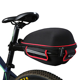 WEST BIKING Bike Saddle Bag Bike Rack Bag Waterproof Portable Lightweight Bike Bag Cloth Lycra Bicycle Bag Cycle Bag Cycling / Bike