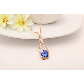 Women's Pendant Necklace - Classic Fashion Geometric Necklace For Wedding Gift 6259554