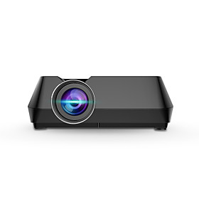 GTS8 Mini LCD Projector Support 1080P Multimedia Home Theater Video Projector