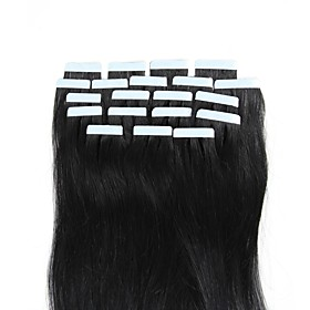 Febay Tape In Human Hair Extensions Straight Human Hair Extensions Human Hair Nano Women's 6229348